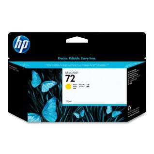 Картридж, HP 72 130-ml Yellow Ink Cartridge, (p/n:C9373A )