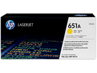 Картридж, HP 651A Yellow LaserJet Print Cartridge, (p/n:CE342A )