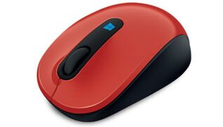 Мышь, Mouse Microsoft  Sculpt Mobile  Flame Red Retail, (p/n:43U-00026 )