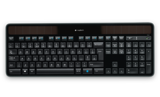 Клавиатура, Logitech Keyboard Solar K750 Wireless RTL, (p/n:920-002938 )